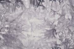 Popielaty materiał z abstrakta wzorem, tło Fotografia Stock