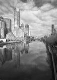 popielaty Melbourne obrazy royalty free