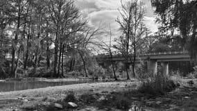Popielaty most Zdjęcie Stock