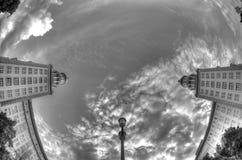 Popielaty niebo Berlin, Niemcy Obrazy Stock