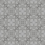 Popielaty Ornamentacyjny Bezszwowy linia wzór Fotografia Stock