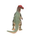 Popielaty pachycephalosaurus na bielu Zdjęcia Royalty Free