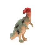 Popielaty pachycephalosaurus na bielu Fotografia Royalty Free