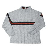 Popielaty pulower odizolowywający zdjęcia royalty free