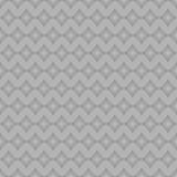 Popielaty rhombus bezszwowy Obrazy Royalty Free