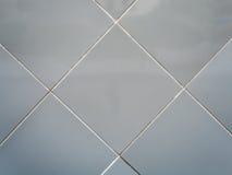 Popielaty rocznika ściana z cegieł Obraz Royalty Free