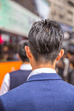 Popiera Azjatycki mężczyzna Zdjęcia Stock