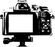Popiera kamera - ilustracja ilustracji