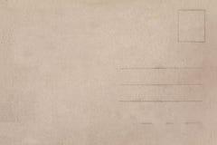 Popiera rocznika pustego miejsca pocztówka obrazy stock