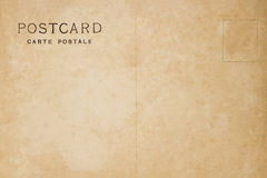 Popiera rocznika pustego miejsca pocztówka zdjęcie royalty free