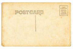 Popiera rocznika pustego miejsca pocztówka Obraz Royalty Free