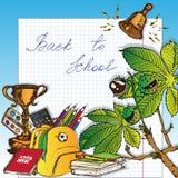 Popiera szkoła - 1 Obraz Stock