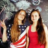 Popiera szkoła po wakacji Zdjęcia Royalty Free