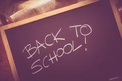 Popiera szkoły Blackboard Zdjęcia Stock
