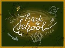 Popiera szkoły literowanie Obraz Royalty Free