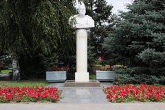 Popiersie Zhukov Volgograd, Rosja Fotografia Royalty Free
