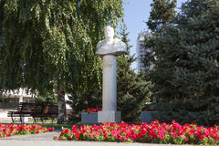 Popiersie Zhukov Volgograd, Rosja Fotografia Stock