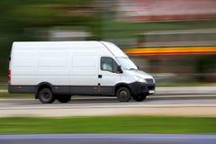 pośpieszny samochód dostawczy Obraz Royalty Free