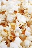 Popkorn tekstura Popkorn przekąski jako tło Sterta popkornu palowy wzór Obrazy Royalty Free