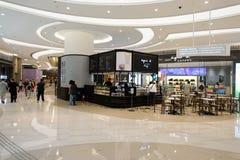Popkornu zakupy centrum handlowe w Tsueng Kwan O Zdjęcie Stock
