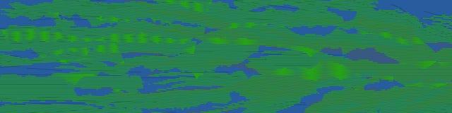 Poplar abstract 5 blue new imaginary landscape, like a sea, like a sky Royalty Free Stock Photography