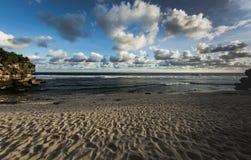 Popołudnie plaża obraz royalty free