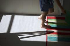 Popołudnie Tęsk cienie Fotografia Stock