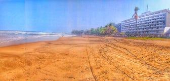 Popołudnie w plaży obraz stock
