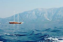 popołudniowa łódź Zdjęcie Stock
