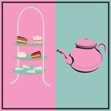 Popołudniowa herbata Zdjęcie Stock