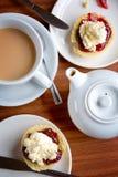 Popołudniowa herbata Fotografia Stock