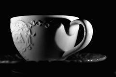 Popołudniowa herbata blaskiem świecy Obrazy Royalty Free