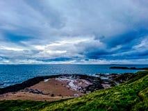 Popołudniowy widok północny berwick obraz royalty free