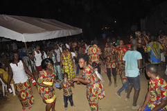 POPO CARNAVAL DE BONOUA photo stock