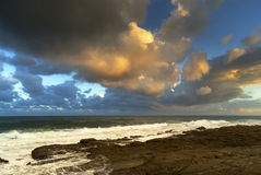 popołudnie chmurny Zdjęcie Royalty Free