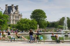 Popołudnie w parku Zdjęcia Royalty Free