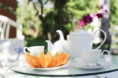 Popołudniowa herbata Fotografia Royalty Free