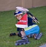 popołudniowa rollerblading sesja Fotografia Stock