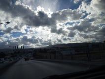 Popołudniowy niebo Fotografia Royalty Free