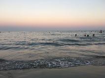 Popołudniowy seaview! Obrazy Stock