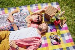 Popołudniowy sunbathing Fotografia Royalty Free