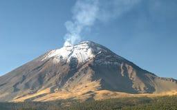 popocatepetl火山 免版税库存照片
