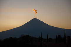 Popocatepetl Photo libre de droits