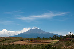 Popocatepetl Royalty Free Stock Photo