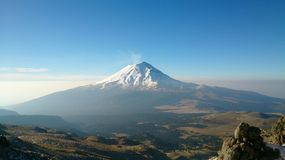 popocatepetl obraz royalty free