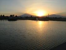 Popocatepetl et volcan d'iztaccihuatl image libre de droits