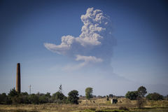 Popocatepetl-Himmel-Blau Stockfotos