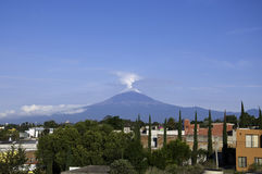 Popocatepetl. Le Mexique Photographie stock