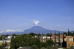Popocatepetl. México Fotografia de Stock