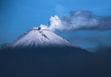 Popocatepetl na manhã Fotografia de Stock